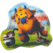 Ergobag Klettie pour cartable 13 cm monster fußball monster fußball