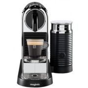 Nespresso Citiz & Milk chromé automatique M195