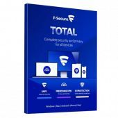 F-Secure - Total | 3 postes | 1 an | PC/Mac/Android | Téléchargement