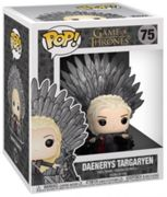 Figurine Game Of Thrones - Daenerys Targaryen On Iron Throne Oversized 15cm
