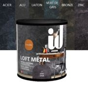 Finition VERT DE GRIS LOFT METAL Metallisation & Protection 600ml - ID Paris