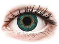 FreshLook ColorBlends Turquoise - correctrices (2 lentilles) +2.50