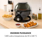 Friteuse à air chaud VitAir Pommesmaster 360° 1400 W 50-240°C minuterie