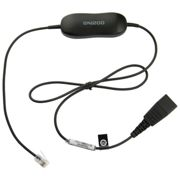 Gn Jabra Smart Cord Straight One Size Black