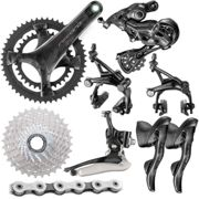 Groupe Campagnolo Record (12 vitesses) - 172.5mm 39/53-11/32t Noir