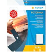 Herma Fotophan 20x30 10 Sheets One Size Black