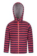 Hoodie Doublure Polaire Enfants Aviemore - Rouge 13
