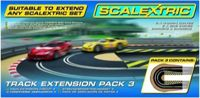 Hornby France - C8512 - Scalextric - Voiture - Extension De Circuit, Pack 3