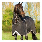 Horseware RAMBO OPTIMO TURNOUT - Couverture de paddock 0g black orange