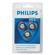 HQ8/40. TETES DE RASOIR PHILIPS HQ8 PACK DE 3 PHILIPS