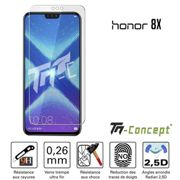 Huawei Honor 8X - Verre trempé TM Concept® - Gamme Crystal