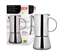 Ibili 620304 Cafetière Express Essential 4 Tasses Inox 18/10