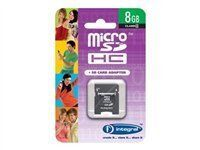 Integral - carte mémoire flash - 8 Go - micro SDHC
