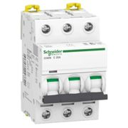 Interrupteur magnétothermique3P 25A 6 KA C 3 modules A9F79325