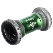 Jeu de pédalier FSA MegaEvo (Evo8681-Di2) - Marron - Vert - 68mm - English Thread, Marron - Vert