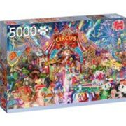 Jumbo puzzle A Night at the Circus156 x 107 cm 5000 pièces Multicolore