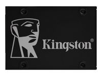 """Kingston KC600 - Disque SSD - chiffré - 1 To - interne - 2.5"""" - SATA 6Gb/s - AES 256 bits - Self-Encrypting Drive (SED), TCG Opal Encryption"""