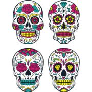 Kit Stickers crânes mexicain