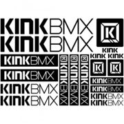 Kit stickers vélo kink bmx