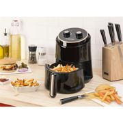 Klarstein Well Air Fry Friteuse à air chaud multifonction 1,5L 1230W - noire