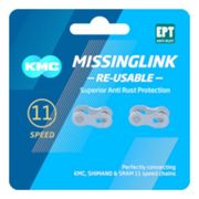 Kmc Ept Missinglink Re-usable 5.65 Mm 2 Units 11s Silver