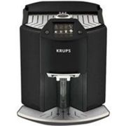 Krups machine à café barista new age one touch de cappuccino, écran tactile coloré, 1.6 l, carbone ea 9078