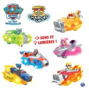 La Pat' Patrouille Vehicule + Figurine Mighty Pups Charged Up Paw Patrol (Assort)