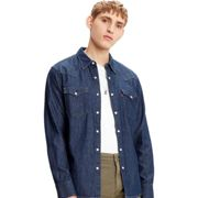 Levi's® Barstow Western Standard - chemise manches longues homme - bleu - M