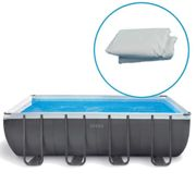 Liner pour piscine Intex Ultra Silver tubulaire rectangulaire Dimension - 9,75 x 4,88 x h1,32m