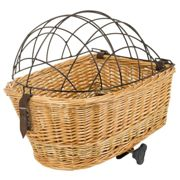 M-wave Carrier Top Wicker Basket One Size Brown