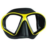 Mares Masque Snorkeling Sealhouette One Size Yellow / Black