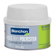 Mastic bois Polyester - Pin - 250g