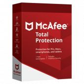 McAfee - Total Protection 2020 | 5 appareils | 1 an | PC/Mac/Android/iOS | En Téléchargement