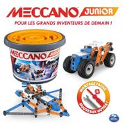 Meccano Nouveau Baril 150 Pieces Meccano Junior