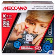 Meccano Set 1 Kit Dinventions Montages Rapides Meccano