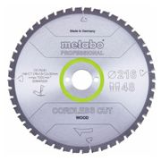 Metabo Lame de scie 'Cordless cut wood - Professional', 216x30 mm, Z28 WZ 5°neg - 628444000