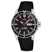 Montre Festina Originals F20378-2 - Montre Dateur Noir Homme