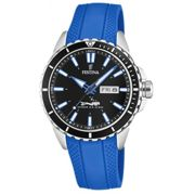 Montre Festina Originals F20378-3 - Montre Dateur Bleu Homme