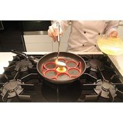 PATISSE Moule 7 blinis silicone 7 cm