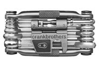 Multi outils crankbrothers m17 17 fonctions nickel