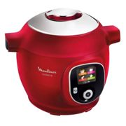 Cookeo Moulinex Cookeo Rouge 180 recettes CE85B510
