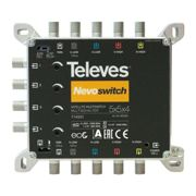 Multiswitch 5x5x4 F Terminal/Cascadable - Noir - Televes