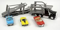 New Ray Camion + 3 Voitures 1/43