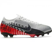 Nike Nike Chaussures de football Football Neymar Jr MERCURIAL VAPOR 13 ELITE FG Enfant 19/20 CHROME/BLACK-RED ORBIT-PLATINUM TINT 36