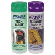 NIKWAX Twin Pack (Tech Wash+Tx Direct Wash in) - Lessive + imperm