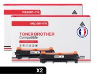 NOPAN-INK - x2 Toners BROTHER TN-2420 compatibles Brother HL-L2350DW/L2310D/L2357DW/L2375DW/L2370DN,Brother MFC-L2710DN/L2710DW/L2730DW/L2750DW,Brother DCP-L2510D/L2530DW/L2537DW/L2550DN