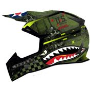 Oneal 5 Series Warhawk Spare Visor One Size Black / Green