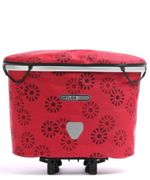 Ortlieb Up Town Rack Design Top-Lock Sacoches de selle rouge