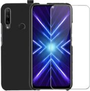 Pack Ibroz Honor 9x Coque Silicone noir