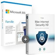 Pack Office 365 Famille + Intego Internet Security X9 - 5 postes - 1 an